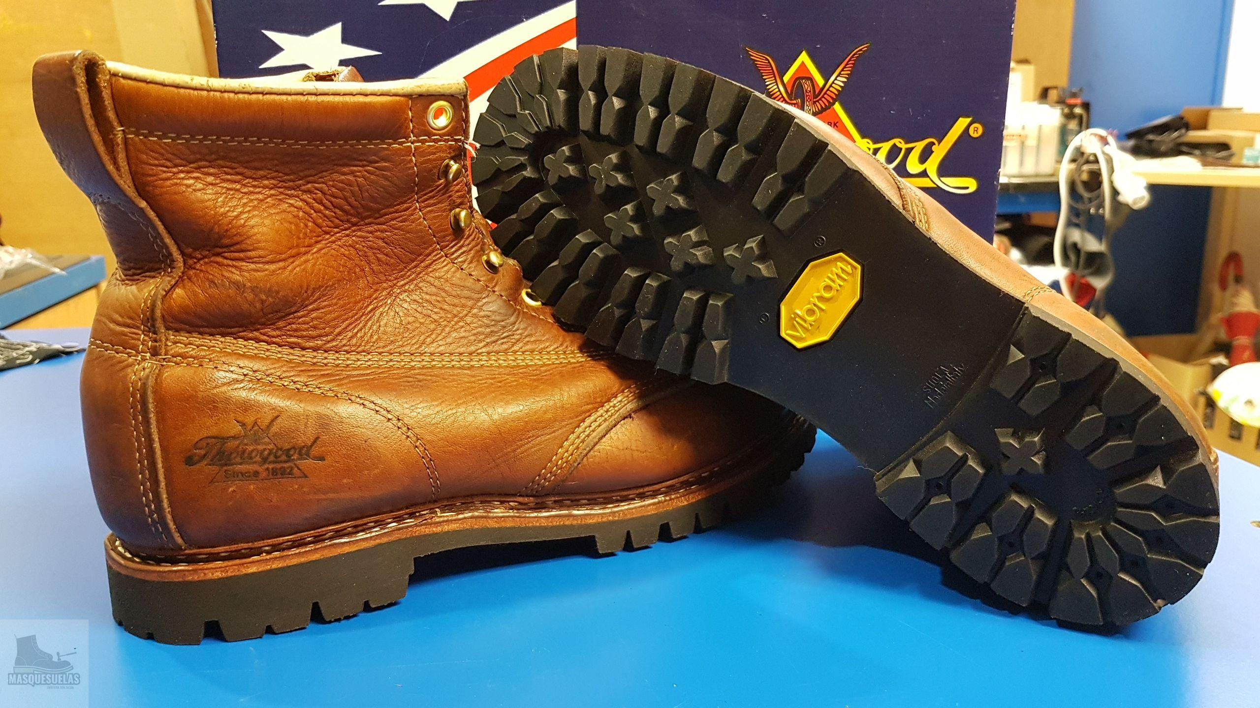 resolado botas red wing